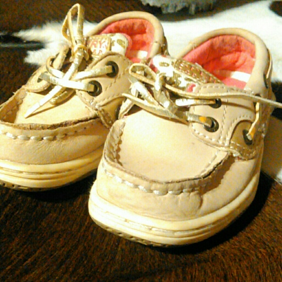 Sperry Other - Little Girls pink and leopard sperrys